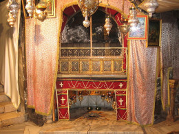 Altar in The Church of the Nativity, Bethlehem