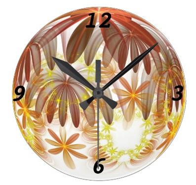 My digital art on a clock, I would be very happy if people bought be me my products as Christmas gifts!
