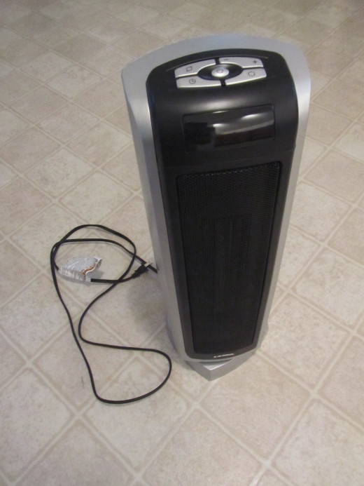Lasko Ceramic Tower Heater Model 5521