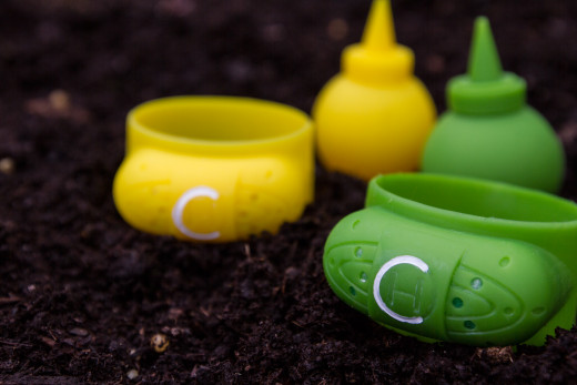 The Band of Clean is a silicone wristband with a hand-sanitizer reservoir