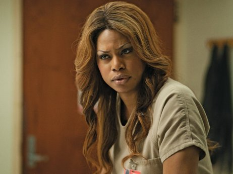 Laverne Cox as Sophia Burset.