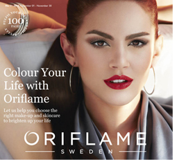 Oriflame Catalogue for November 2013