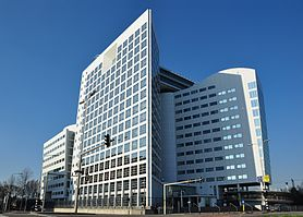 The main ICC building in The Hague