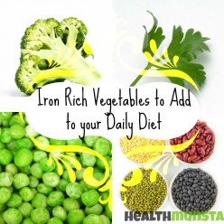 Iron Rich Vegetables: Sources of Iron for Vegetarians
