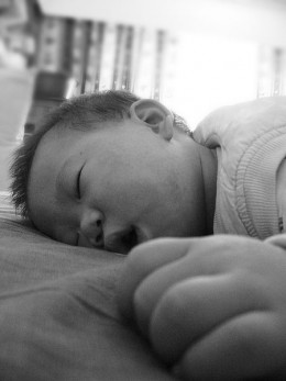 Sleep like a baby is such a misnomer...babies wake up every few hours...who would want that?