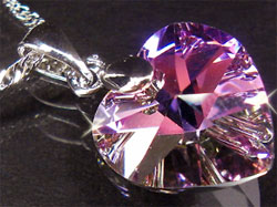 The Swarovski heart pendant I saw for AU$3.99.