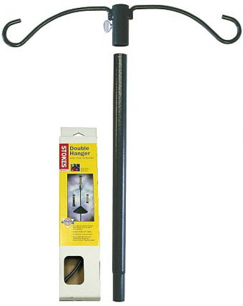 Shown is a version of a two hook pole feeder. They can come as one piece or or more than one piece.