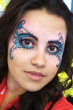 Fairy Princess Face Design