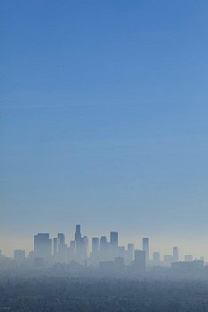 Los Angeles skyline. In L.A. there are at least 13 people with exactly the same number of strands of hair....