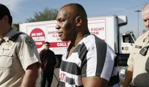 Mike Tyson went to jail for attacking a photographer at an airport. Mike Tyson may not be innocent but he sure gets picked on by the media an press alike.