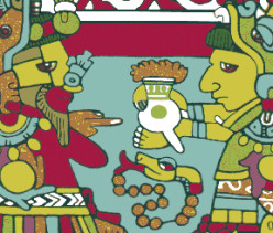 Maya and Aztecs were some of the first peoples to cultivate and produce a cocoa beverage that was a very bitter drink.