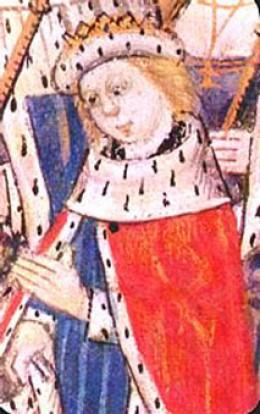 Edward V portrait for his coronation