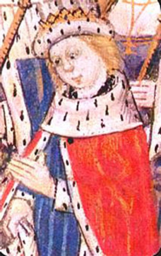 Edward V portrait for his coronation