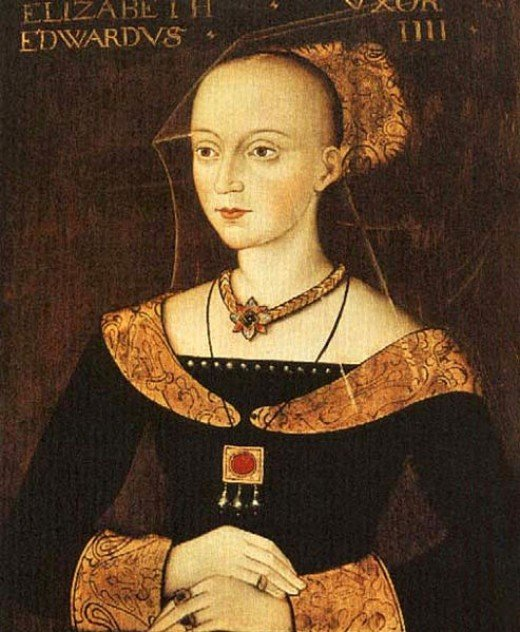 Elizabeth Woodville was in sanctuary for the birth of Edward V
