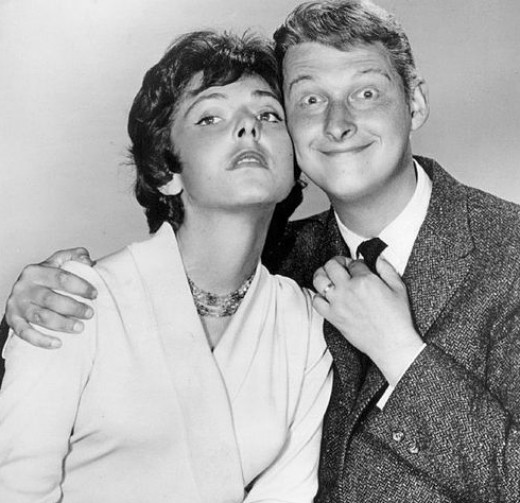 Comedy duo: Mike Nicholas & Elaine May