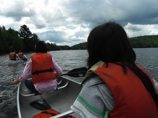 The park offers best lakes for canoeing and kayaking.