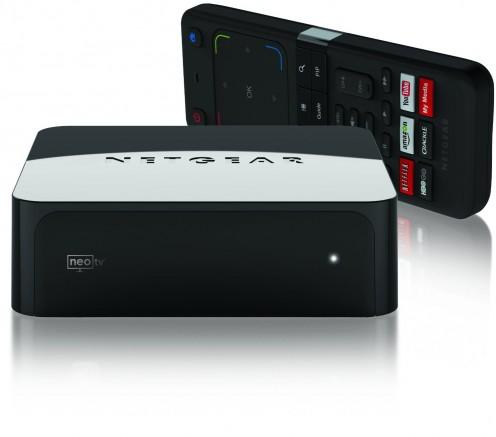 The Netgear GTV-100 NAS NeoTV Prime.