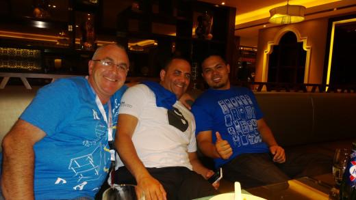 Lenny, Mark and Me (Stolen from Stephen Oiller)