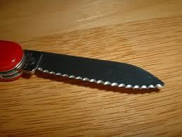 Serrated blade