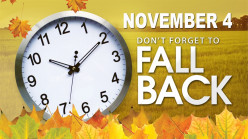 Did you remember to turn your clocks back for daylight saving time?