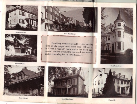 Brochure of where I lived for a short while.