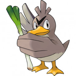 Pokémon X and Y Walkthrough, Pokémon Move Sets: Farfetch'd