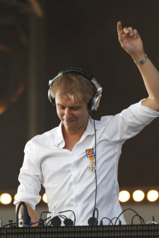 Armin van Buuren: a pioneer in every sense of the word. He was the first radio DJ to vocally introduce each of his tracks during live mixes.