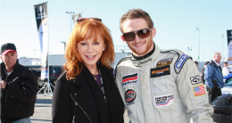 Reba McEntire and her son Shelby Blackstock