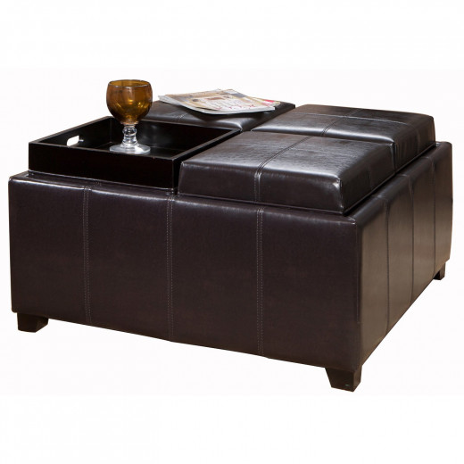 Best Leather Ottoman Coffee Tables 2014 Hubpages