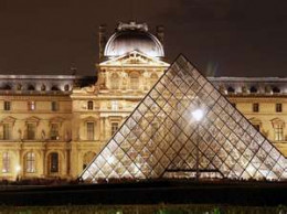 The world famous Louvre