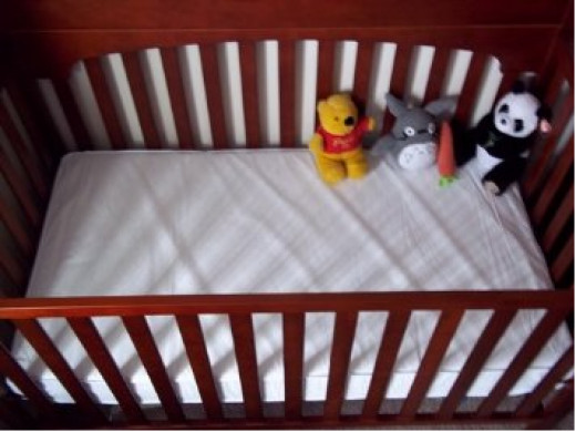 Safety 1st Heavenly Dreams White Crib Mattress