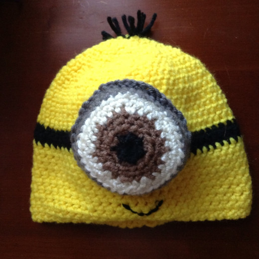 Crochet Minion Hat