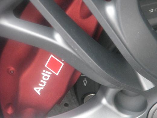 R8 GT brakes