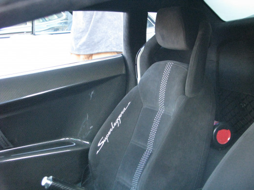 Gallardo Superleggera seat