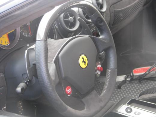 430 Scuderia steering wheel