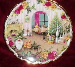 Royal Albert Christmas Collector Plates--Nostalgic Scenes Depicting the Magic of the Season