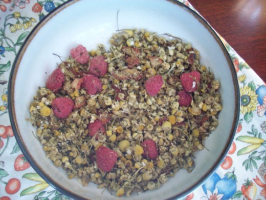 Very Berry Chamomile Tea Blend by KittytheDreamer
