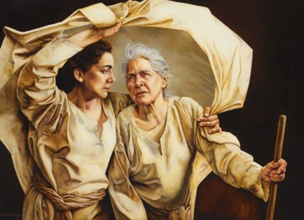 Ruth was a faithful friend to the widow Naomi when she had nothing or no one.