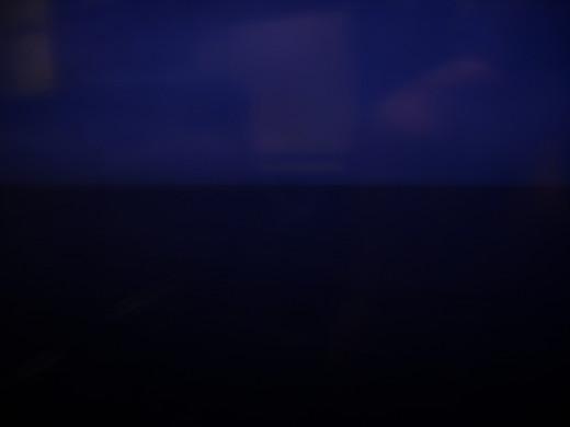 Pontchartrain, at night