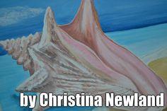 Painting by my niece Christina Newland via pinstamatic.