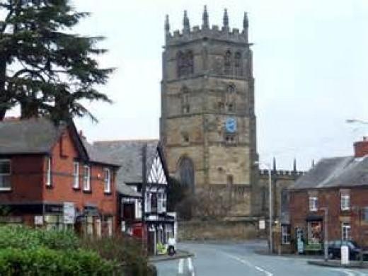 Ancient Welsh church