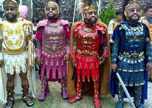 The Moriones Festival history and religious event.