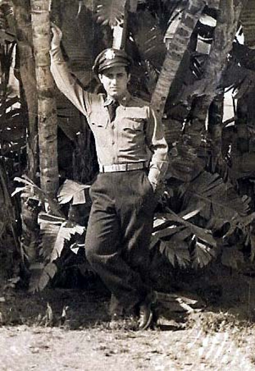My Uncle John in Belem Brazil in the 1940's WWII