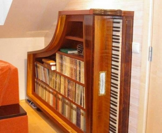Up-cycled piano