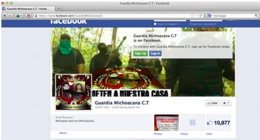 Cartel FB page