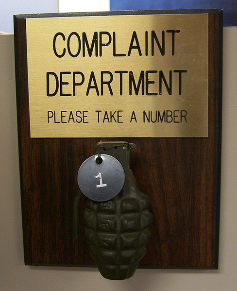 Sometimes this is what supervisors want to do when they receive an employee complaint.