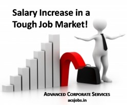 Why Salaries are going up in a falling Job Market in India?