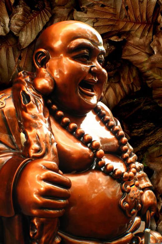 Fat Buddha knew how to belly laugh!-wikimedia commons
