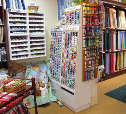 Quilting Supplies--wikimedia commons