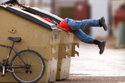 Dumpster Diving Gross or Green?